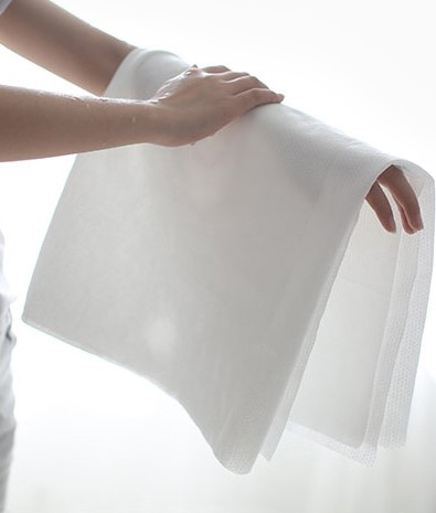 Disposable hotel wiping material